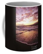 Wailea Beach At Sunset Coffee Mug