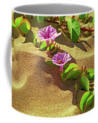 Wailea Beach Morning Glory With Honeybee Coffee Mug