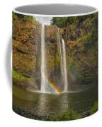 Wailua Falls Rainbow Coffee Mug