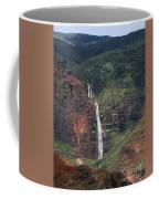 Waimea Canyon Waterfall Coffee Mug
