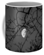 Waning Black And White Coffee Mug