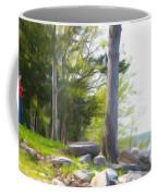 Waiting Ashore Coffee Mug