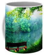 Waiting Bench Coffee Mug