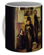 Waiting For Legal Advice Coffee Mug by James Campbell