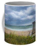 Waiting For Sunrise On The Dunes Coffee Mug