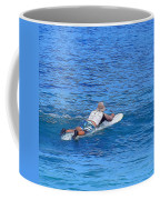 Waiting For The Perfect Wave Coffee Mug