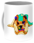 Waiting For You. Dog Series Coffee Mug