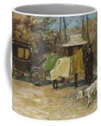 Waiting In A Car Park  Willem De Zwart  1872   1931 Coffee Mug