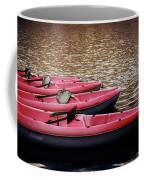 Waiting Kayaks Coffee Mug