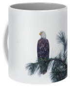 Waiting Out The Snow Coffee Mug