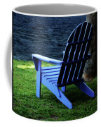 Waiting Coffee Mug by Sandy Keeton