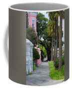 Walk Along Rainbow Row Coffee Mug