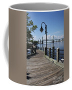 Walk Along The Fear River - Wilmington Coffee Mug