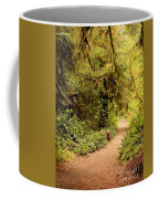 Walk Into The Forest Coffee Mug by Carol Groenen