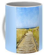 Walk To The Beach Coffee Mug