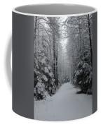 Walk With Frost Coffee Mug