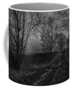Walking In A Muddy Lane Coffee Mug