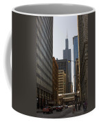 Walking In Chicago Coffee Mug