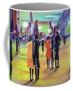 Walking In Paris Coffee Mug