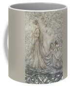 Walking In The Magic Garden Coffee Mug