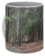 Walking In The Pine Forest Coffee Mug