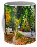 Walking On A Beautiful Path Coffee Mug