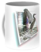 Walking On Water - Use Red-cyan 3d Glasses Coffee Mug