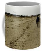 Walking The Beach Coffee Mug