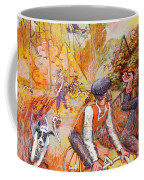 Walking The Dog 7 Coffee Mug