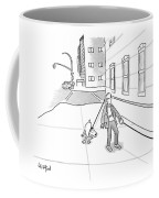 Walking The Dog Coffee Mug