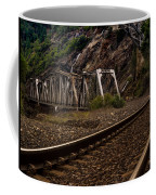 Walking The Tracks Coffee Mug