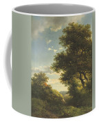 Walking Through The Forest Coffee Mug