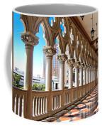 Walkway At The Venetian Hotel Coffee Mug