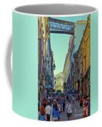 Walkway Over The Street - Lisbon Coffee Mug