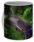Walkway Tahquamenon Lower Falls Upper Peninsula Michigan Coffee Mug