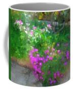 Wall Flowers, Croatia Coffee Mug