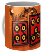 Wall Of Records Coffee Mug