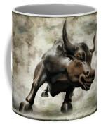 Wall Street Bull Viii Coffee Mug