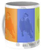 Wall Street Bull Coffee Mug