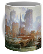 Wall Street Ferry Ship Coffee Mug