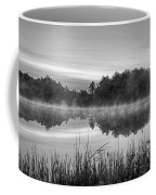 Wallis Sands Marsh Smoke On The Water Rye Nh Black And White Coffee Mug