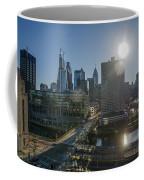 Walnut Street Sunrise From University City Coffee Mug