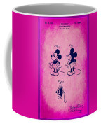 Walt Disney Mickey Mouse Toy Patent 2g Coffee Mug
