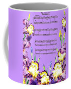 Waltz Of The Flowers Dancing Iris Coffee Mug