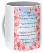 Waltz Of The Flowers Dancing Pink Coffee Mug