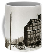 Wanamie Pa Wanamie  Number 18 Coal Breaker 1944 Coffee Mug