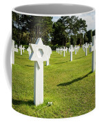 War Crosses In Normandy Coffee Mug