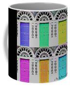 Warhol's Doors Coffee Mug