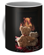 Warm And Cosy Teddies By The Fireside Coffee Mug