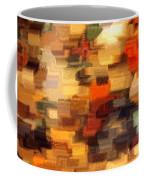 Warm Colors Abstract Coffee Mug